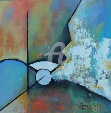 Peinture, acrylique, abstrait, œuvre d'art par Christiane Bernais