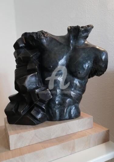 Sculpture Masculin, bronze, figuratif, œuvre d'art par Christiane Bernais