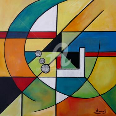 Peinture Abstrait, acrylique, expressionnisme, œuvre d'art par Christiane Bernais